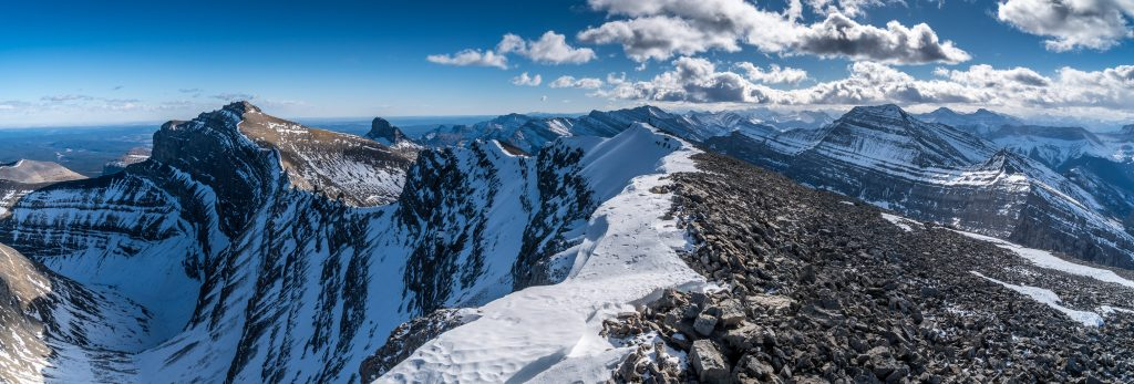 Summit views from Astral Peak.