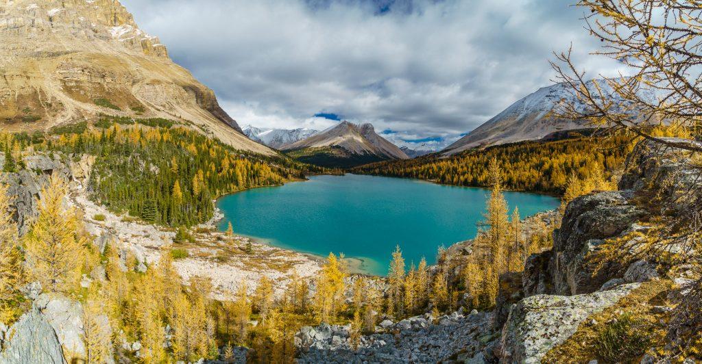 Myosotis Lake and trail.